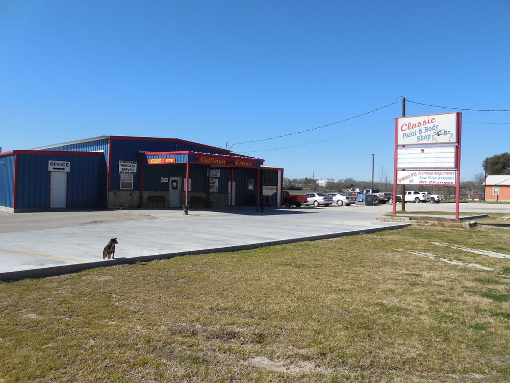 Classic Paint and Body Shop: 802 S McKinney St, Mexia, TX