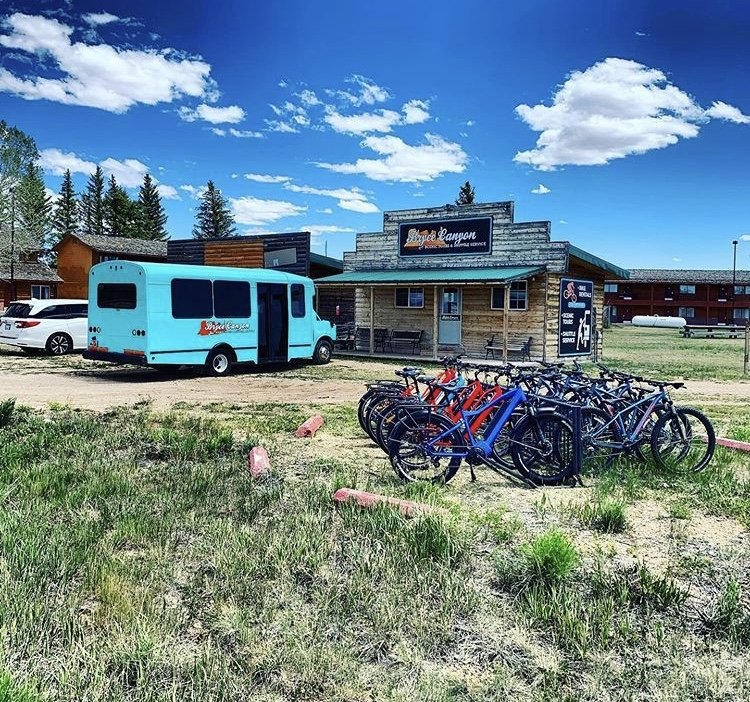 Outta Here eBikes: 13500 East UT-12, Bryce Canyon City, UT