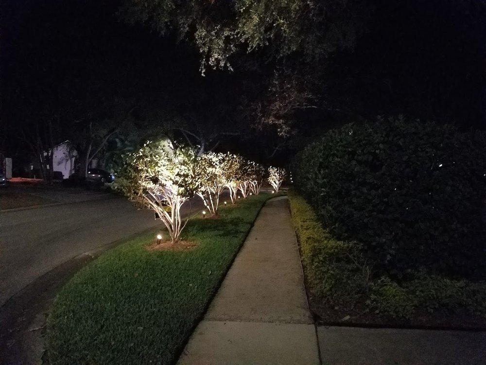 Outdoor Lighting Perspectives: 109 S Bayview Blvd, Oldsmar, FL