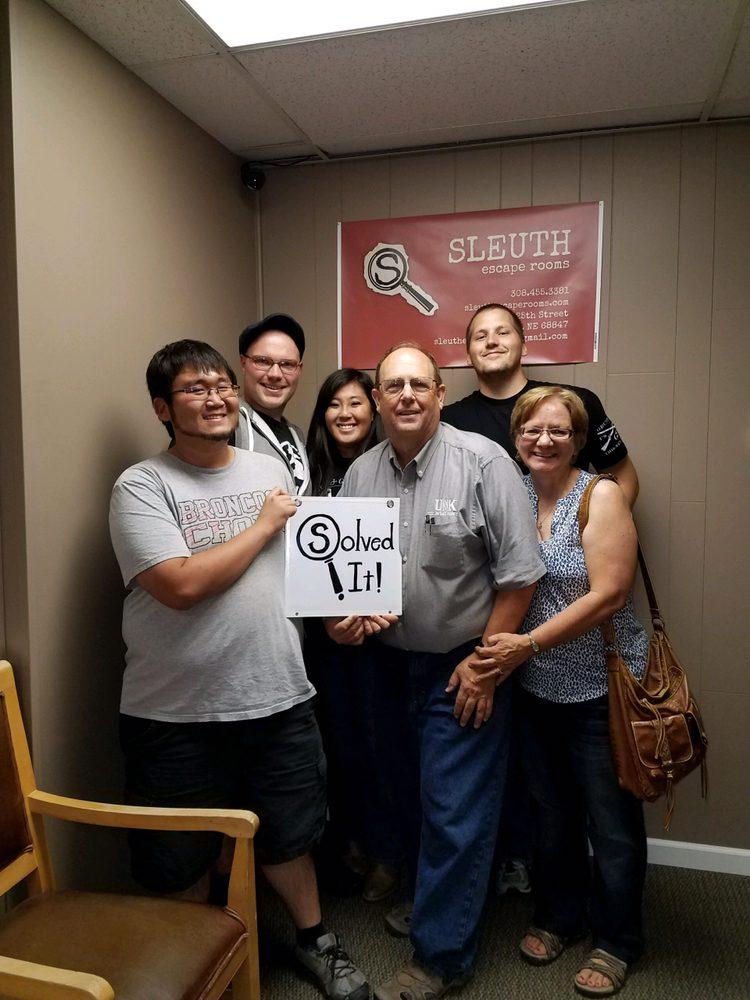Sleuth Escape Rooms: 204 E 25th St, Kearney, NE