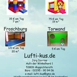 Lufti-kus - Kinderaktivitäten - Auf der Winkelhard 1