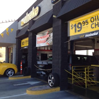 Meineke Car Care Center has been America's local auto repair shop since Starting out as a muffler shop we have expanded to a full service car repair shop that performs services from car ac repair to exhaust repair to tire changes at our tire shop.