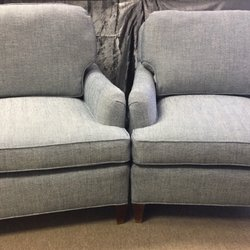 Photo Of Cushion World   Denver, CO, United States. New Upholstery With Blue