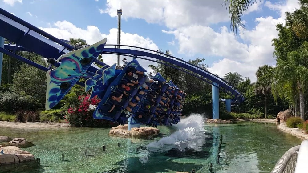 Manta: 7007 Sea World Dr, Orlando, FL