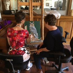Photo Of Ingrassia Studio   Los Angeles, CA, United States. People Painting  At