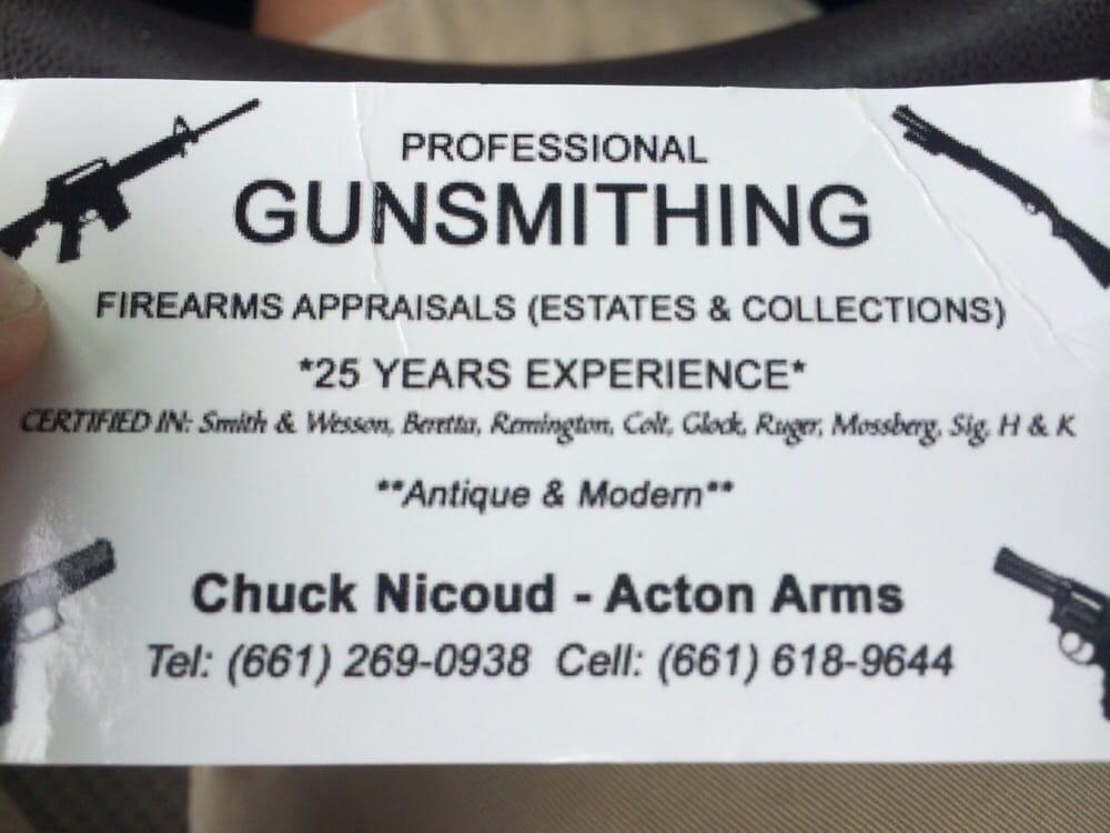 Acton Arms Gunsmithing: Acton, CA