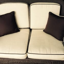 Photo Of Golden Eagle Upholstery   Vero Beach, FL, United States.  Reupholstered Cushions