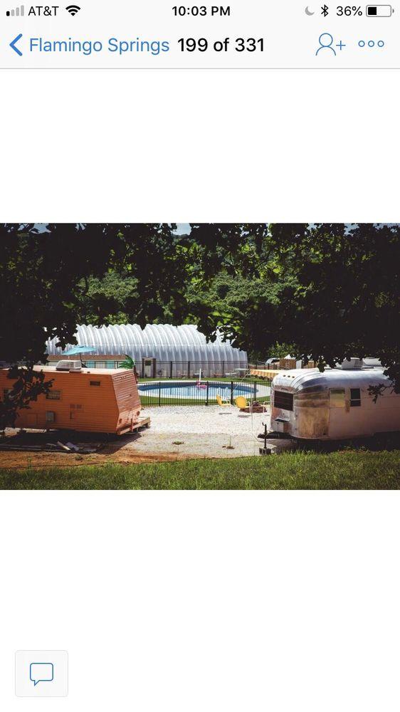 Flamingo Springs Trailer Resort: 15475 Greasy Valley Rd, Prairie Grove, AR