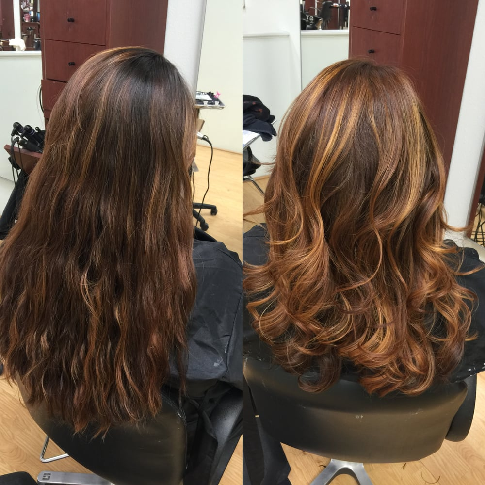 Mousy Ash Dark Brown Natural Base To Dark Warm Auburn Base And
