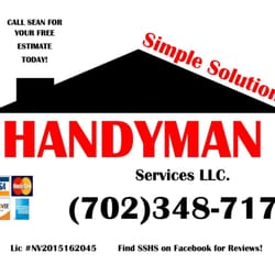 Simple Solutions Handyman Services - Handyman - Las Vegas, NV ...