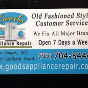Old Photo Of Good S Liance Repair Las Vegas Nv United States Business Saved