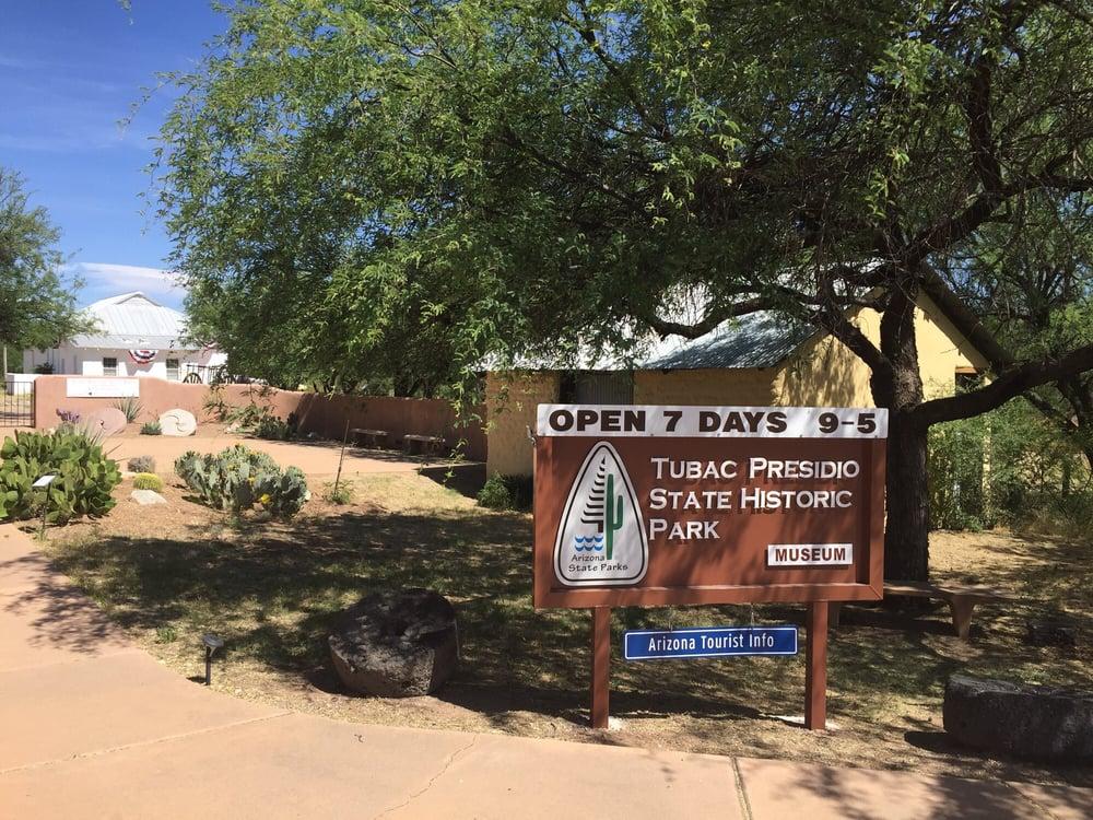 Tubac Presidio State Park: 1 Burrel St, Amado, AZ