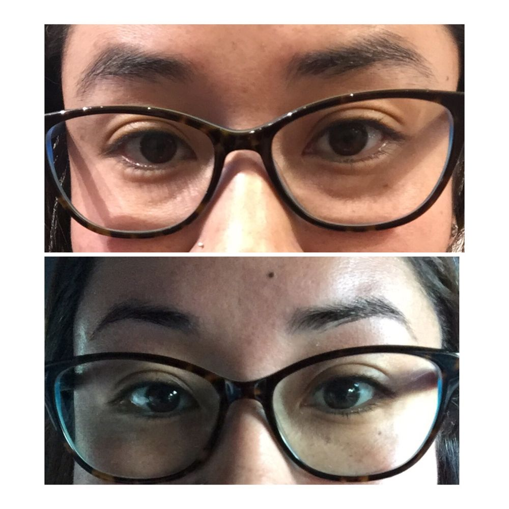 Before After Eyebrow Wax Yelp