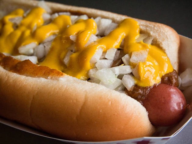 Midwest Coney Connection: 5610 Richmond Ave, Houston, TX