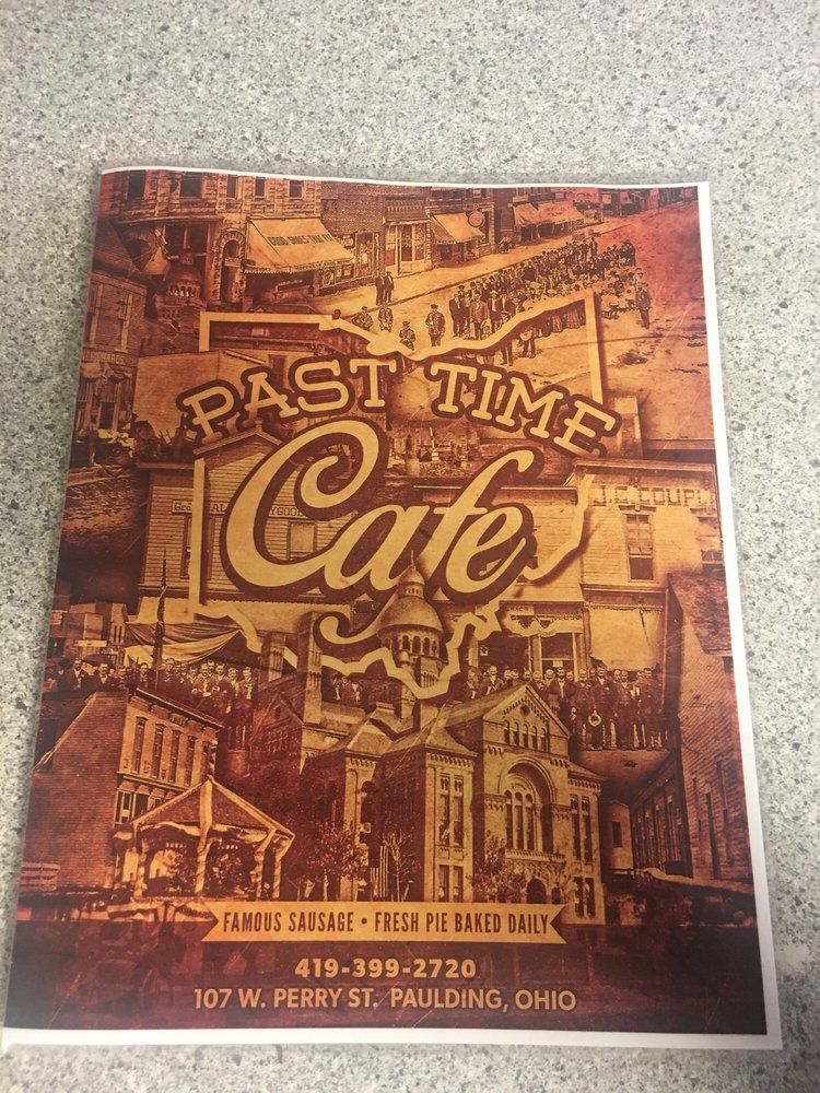 Past Time Cafe: 107 W Perry St, Paulding, OH