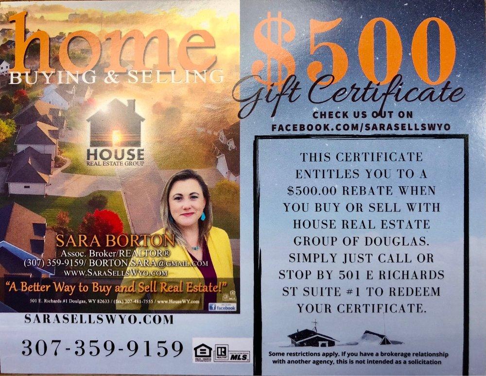 Sara Borton - House Real Estate Group: 501 E Richards St, Douglas, WY