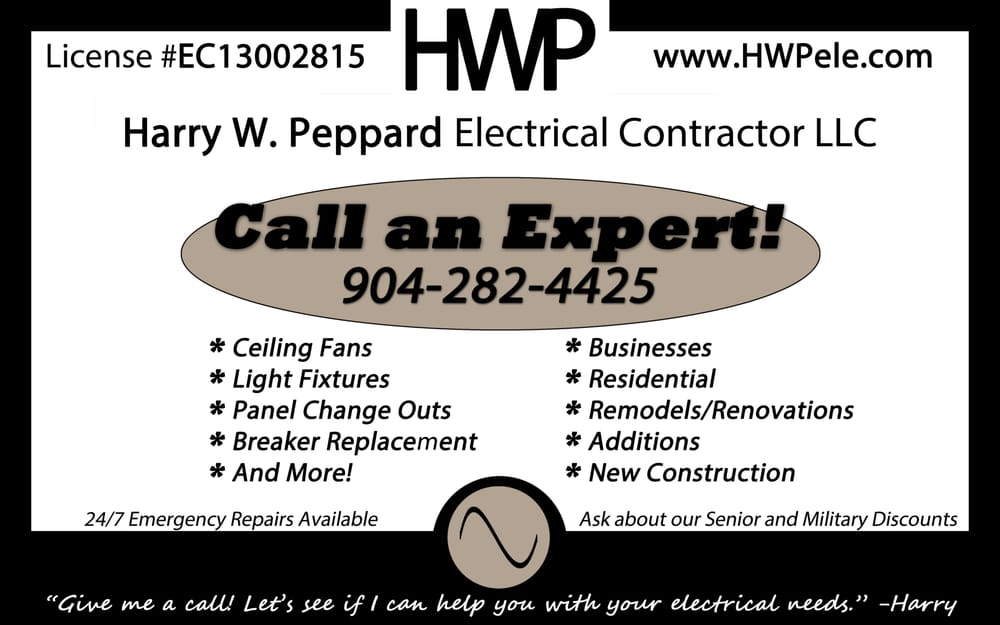 Harry W Peppard Electrical Contractor: Middleburg, FL