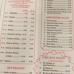 The elite jackson ms menu