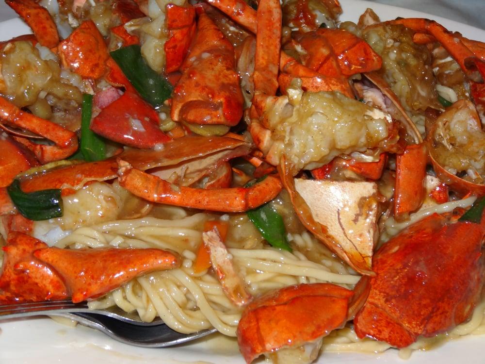 Lobster Yee Mein (Lobster Noodles) Recipe — Dishmaps