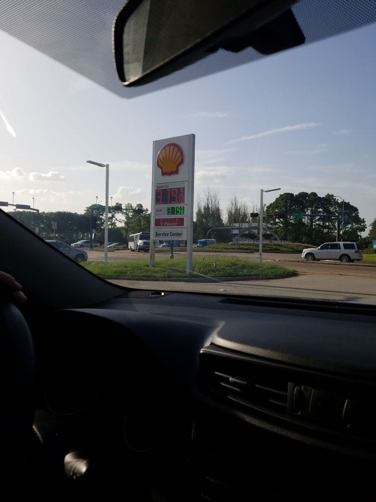 Airport Shell: 15930 John F Kennedy Blvd, Houston, TX