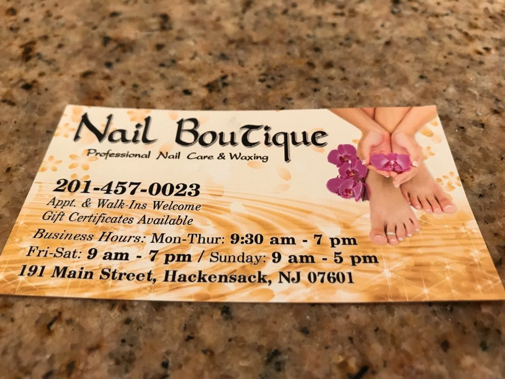 Hackensack nail salon gift cards new jersey giftly nail boutique 191 main st hackensack nj reheart Gallery
