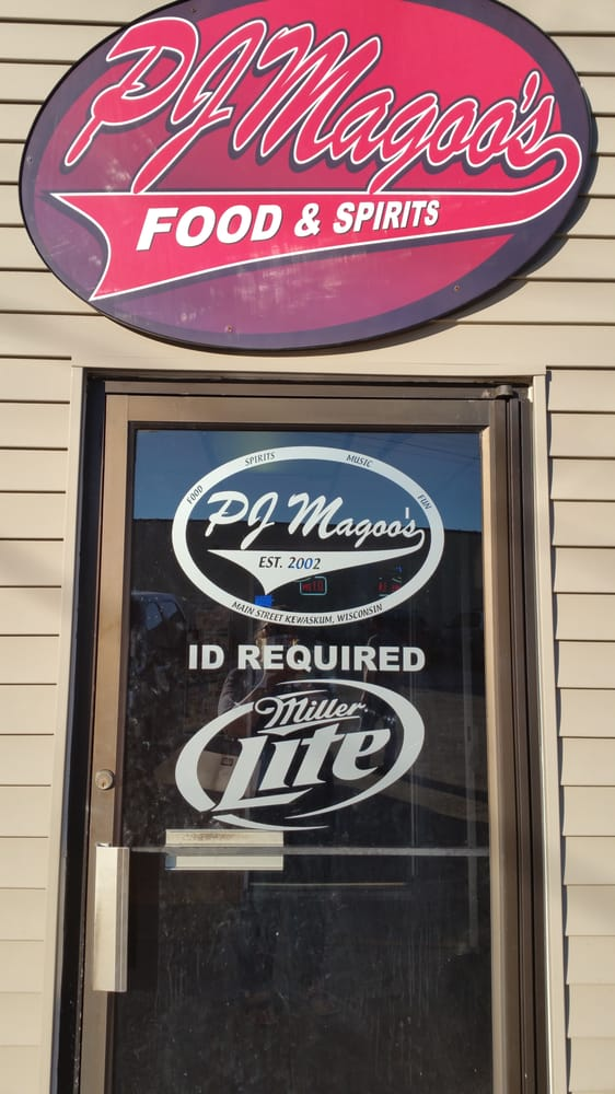 PJ Magoos: 1273 Fond Du Lac Ave, Kewaskum, WI