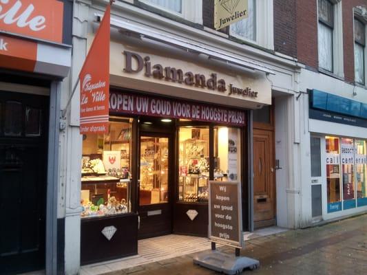 diamanda juwelier sieraden zwart janstraat 56