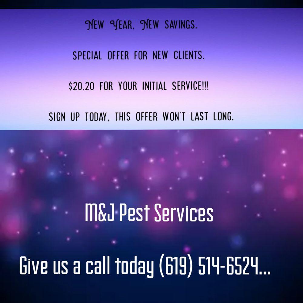 M & J Pest Services: Descanso, CA