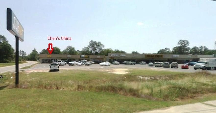 Chen's China: 692 Main St N, Pearson, GA