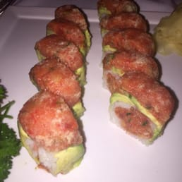 The River Palm Terrace - Edgewater, NJ, United States. Otoro tuna roll amazing
