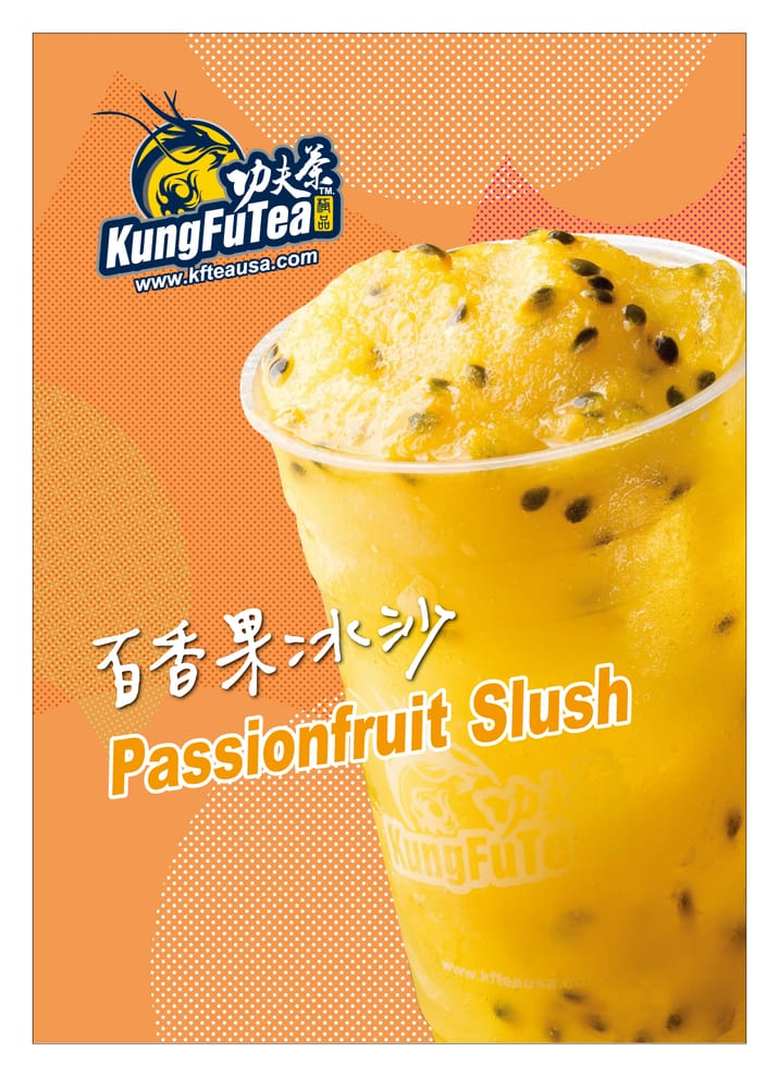 passion fruit tea fruit sushi