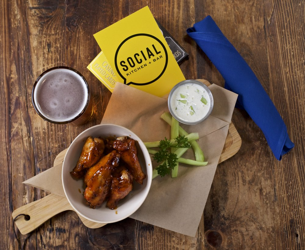 Social Kitchen + Bar: 725 Cerrillos Rd, Santa Fe, NM