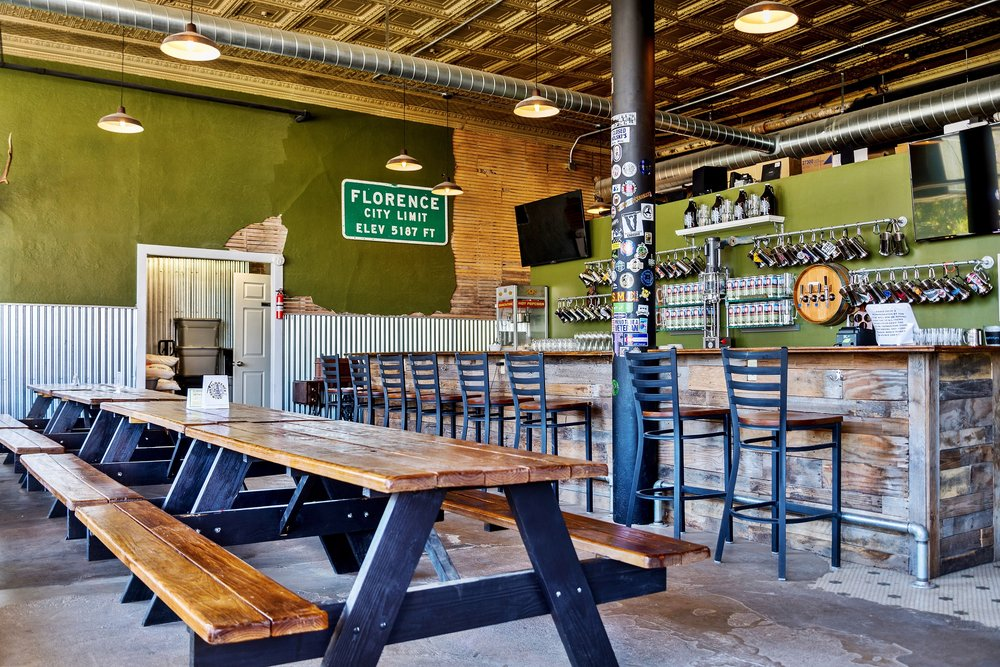 Florence Brewing Company: 200 S Pikes Peak Ave, Florence, CO