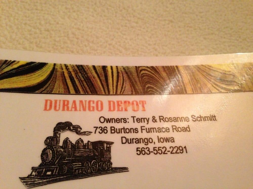 Durango Depot: 736 Burtons Furnace Rd, Durango, IA