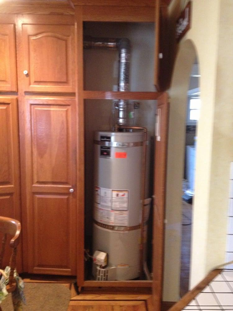 50 Gallon Power Vent High Efficiency Tank Water Heater Yelp