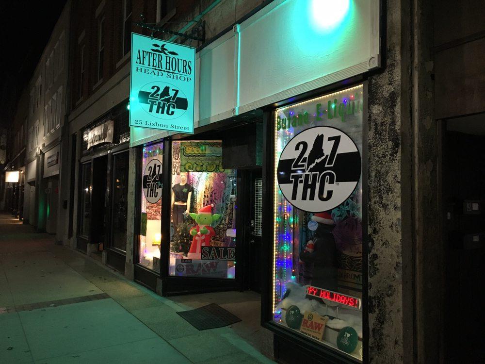 After Hours Smoke Shop: 25 Lisbon St, Lewiston, ME
