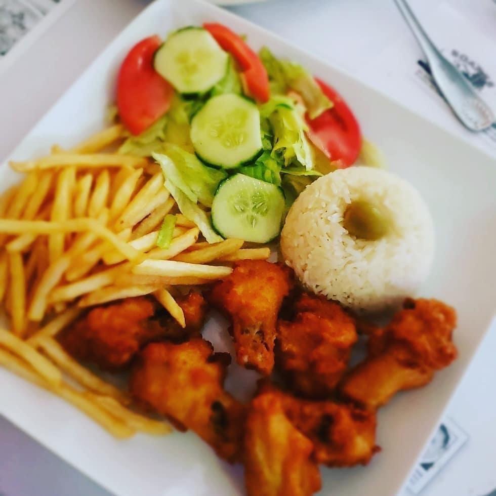 Preto's Island Cuisine Restaurant: 250 Main St, Brockton, MA