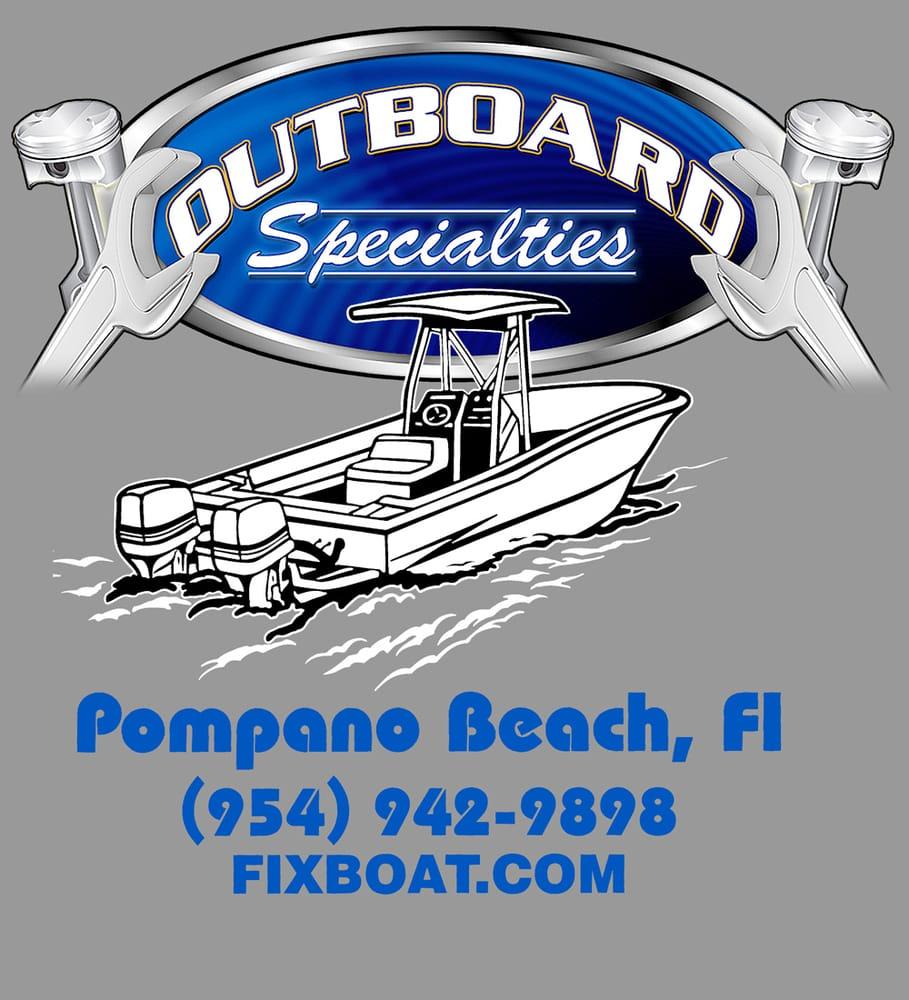 Outboard Specialties  N Dixie Hwy Pompano Beach Fl