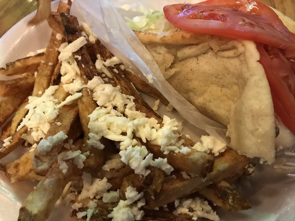 Little Greek Restaurant: 12117 W Linebaugh Ave, Tampa, FL