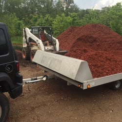 Photo Of Romence Gardens Portage Mi United States Red Mulch By The