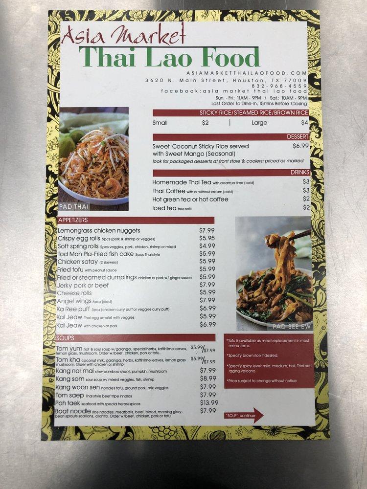 Asia Market Thai Lao Food