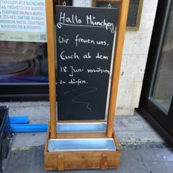 bohne malz geschlossen coffee shop neuhausen. Black Bedroom Furniture Sets. Home Design Ideas