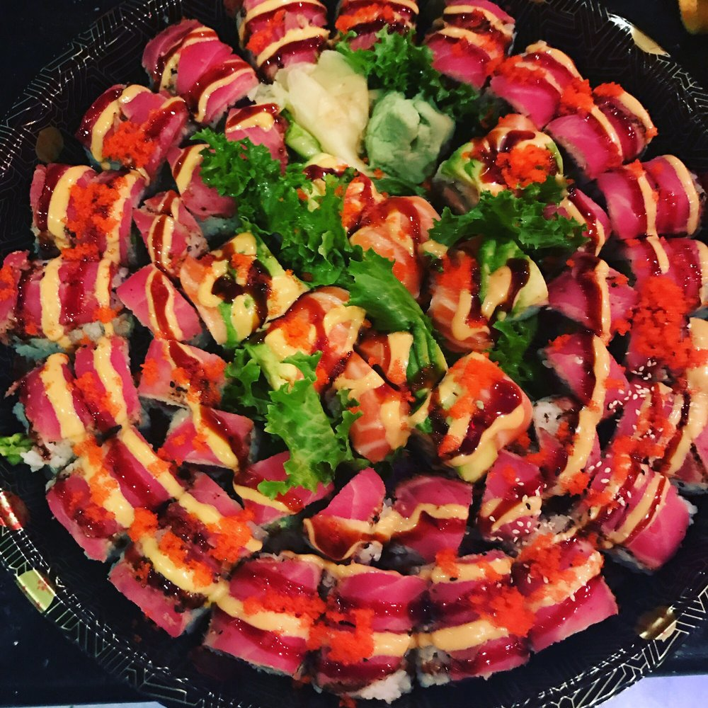 Food from Mirakuya Sushi & Steak House