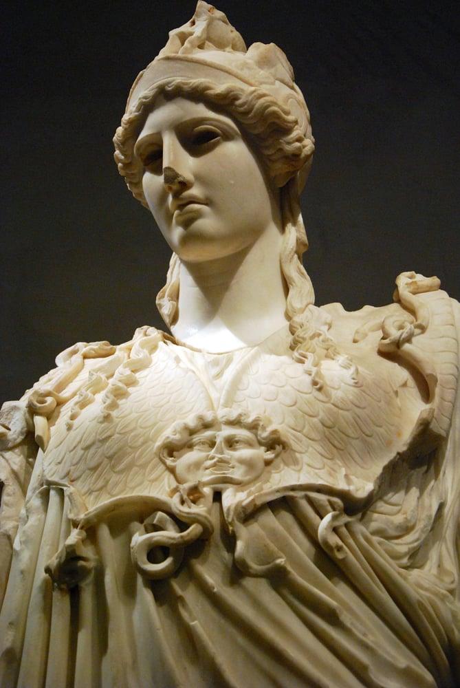 the hope athena sculpture