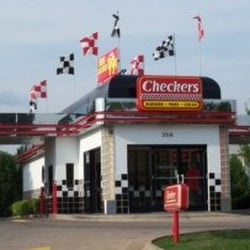 History. The merged company is headquartered in Tampa, Florida. Checkers was founded in in Mobile, Alabama, by Jim Mattei and went public in Rally's was founded in Louisville, Kentucky, in In and , Rally's absorbed Maxie's of America, Snapps Drive-Thru, and Zipps Drive-Thru.