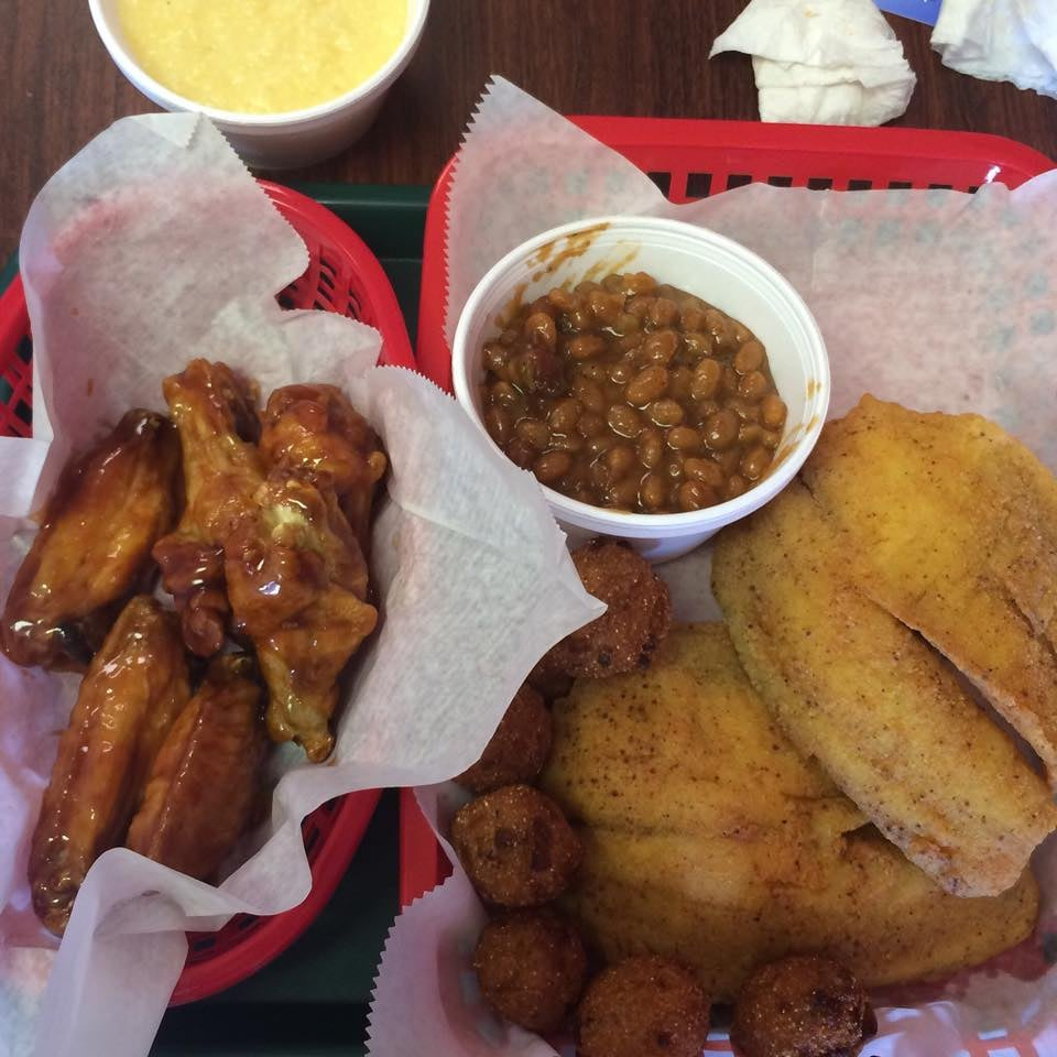 Butler s fish more closed chicken wings 3511 salem for Wings and fish