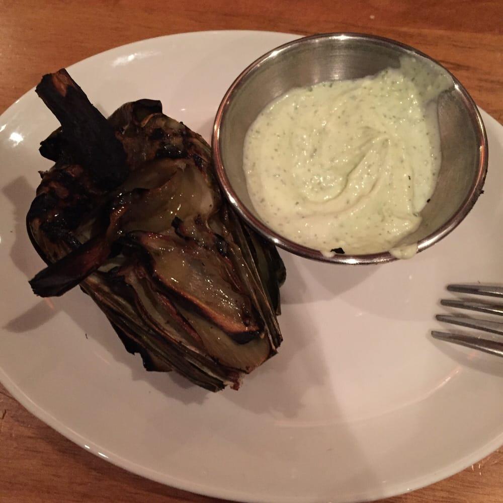 Grilled artichoke yelp for King s fish house corona