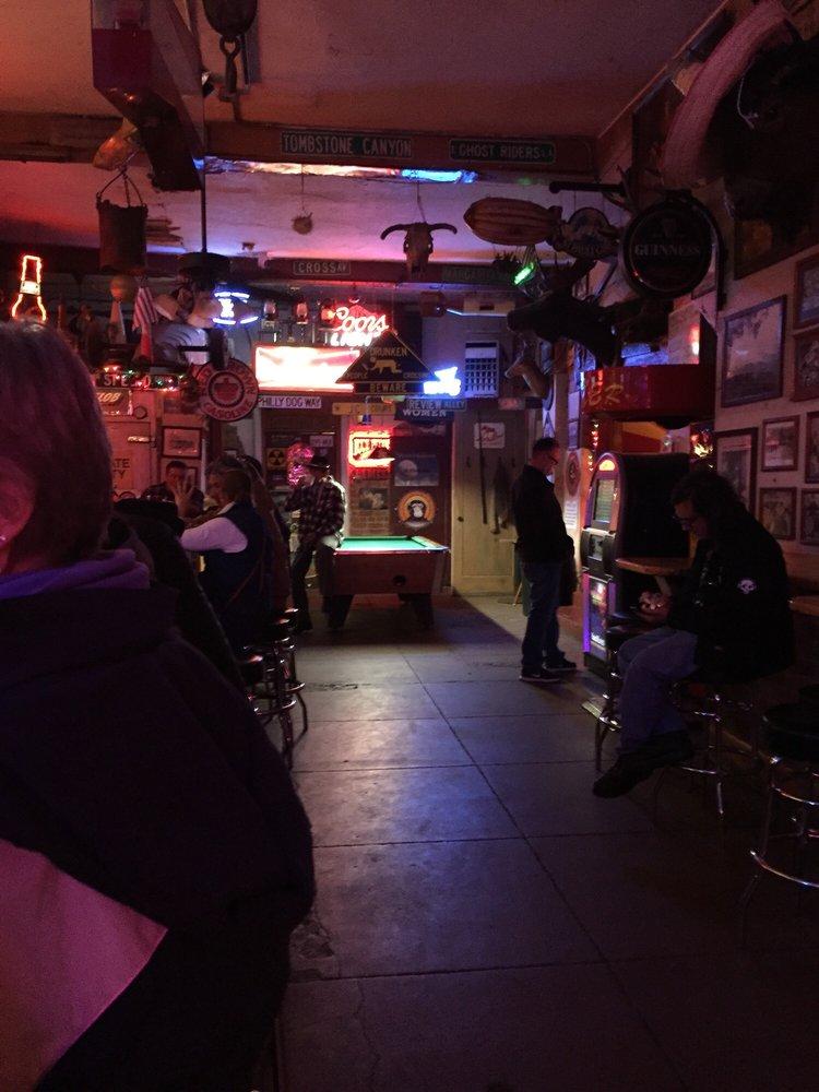 St Elmo Bar: 36 Brewery Ave, Bisbee, AZ