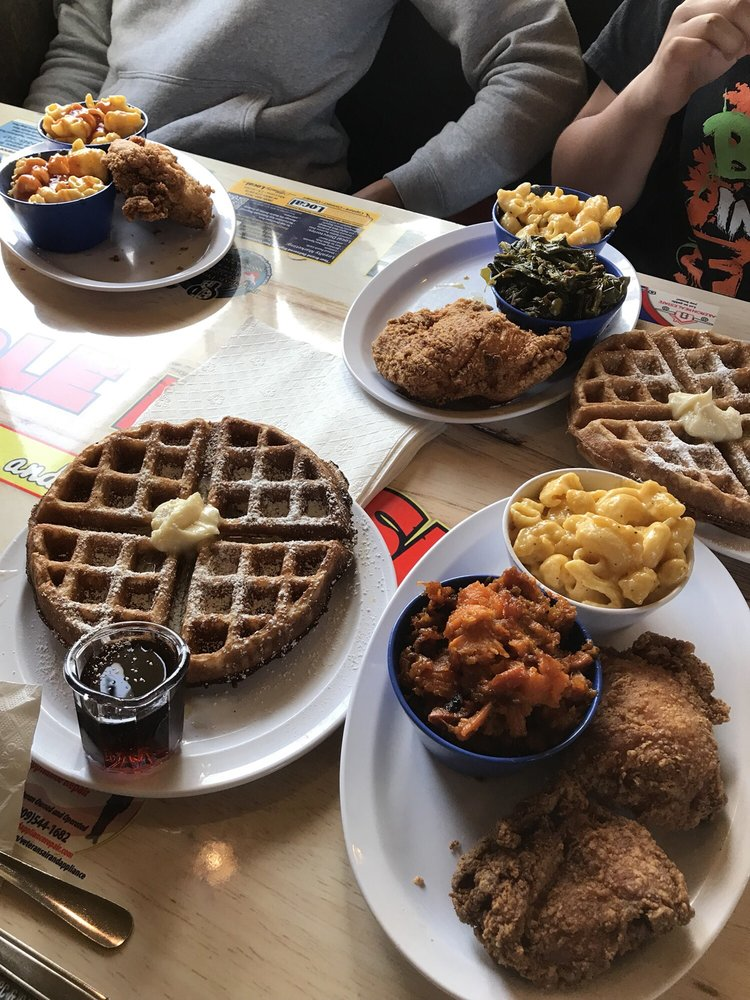 Maple House Chicken and Waffles: 1520 N Mountain Ave, Ontario, CA