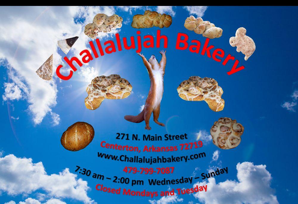 Challalujah Bakery: 271 N Main St, Centerton, AR